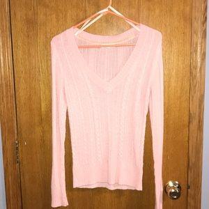 Pale pink Aeropostale sweater!